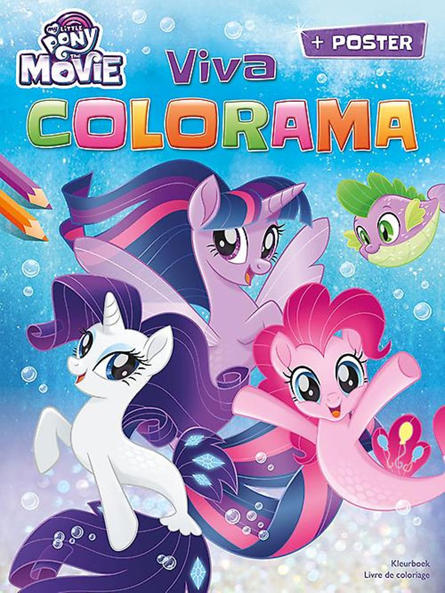 My little pony the movie viva colorama