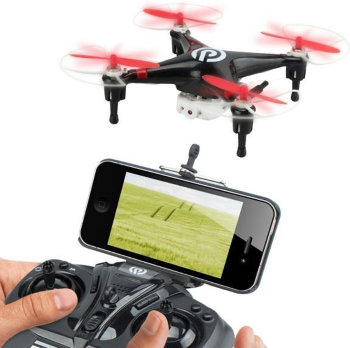 NINETEC SPYFORCE1 video drone live uitzending Smartphone IOS Android