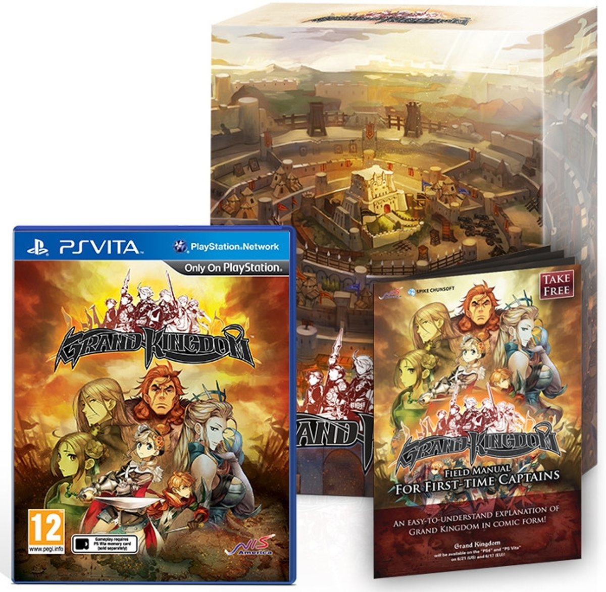 Grand Kingdom - Limited Edition (Vita)
