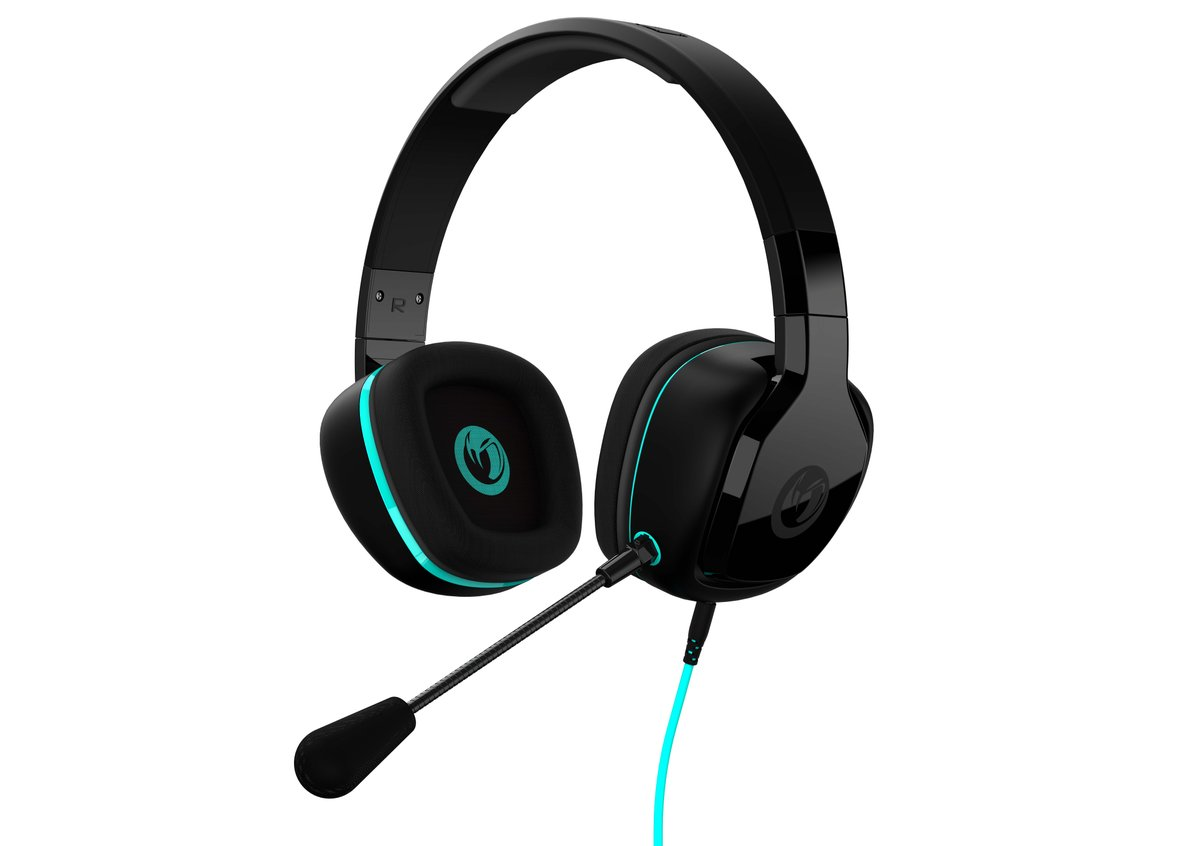 GH-100ST Wired Stereo Gaming Headset - Zwart (PS4 + Xbox One + PC + Mac + Mobile)