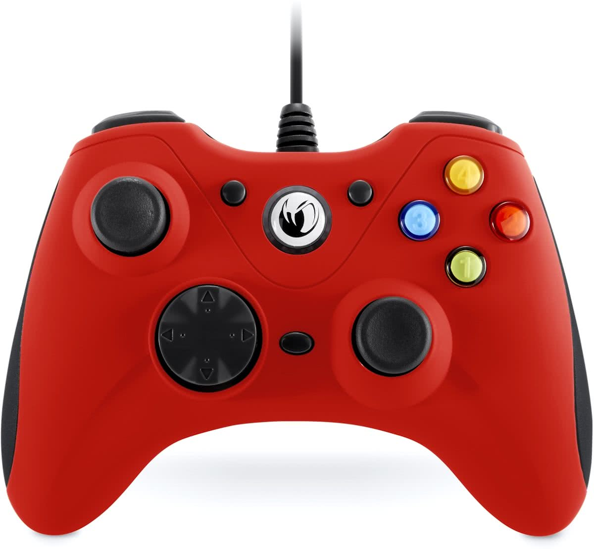PCGC-100RED Wired Gaming   - Rood (PC)