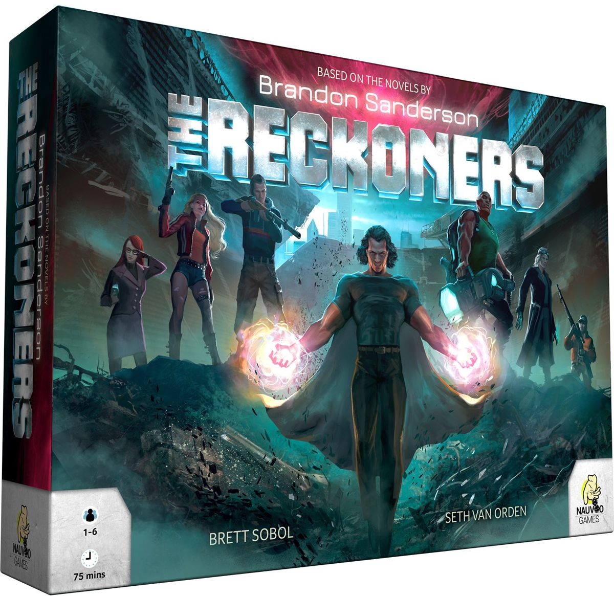 The Reckoners Deluxe Edition Bard Game