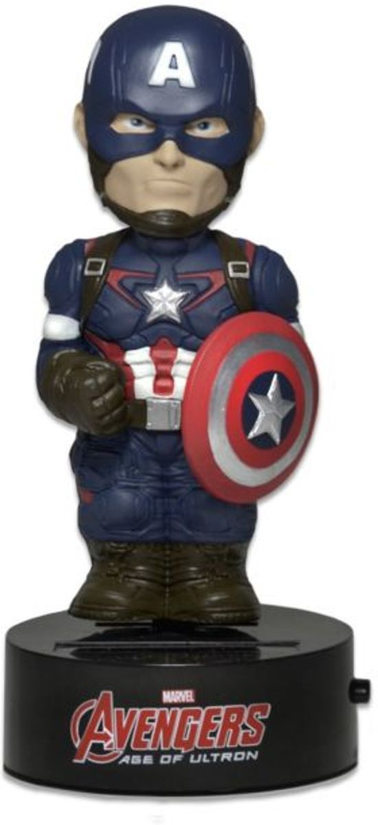 Avengers 2 Age of Ultron Captain America Body Knocker Figure NECA