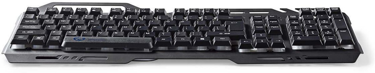 Gaming Keyboard | RGB Illumination | USB 2.0 | German Layout | Metal Design
