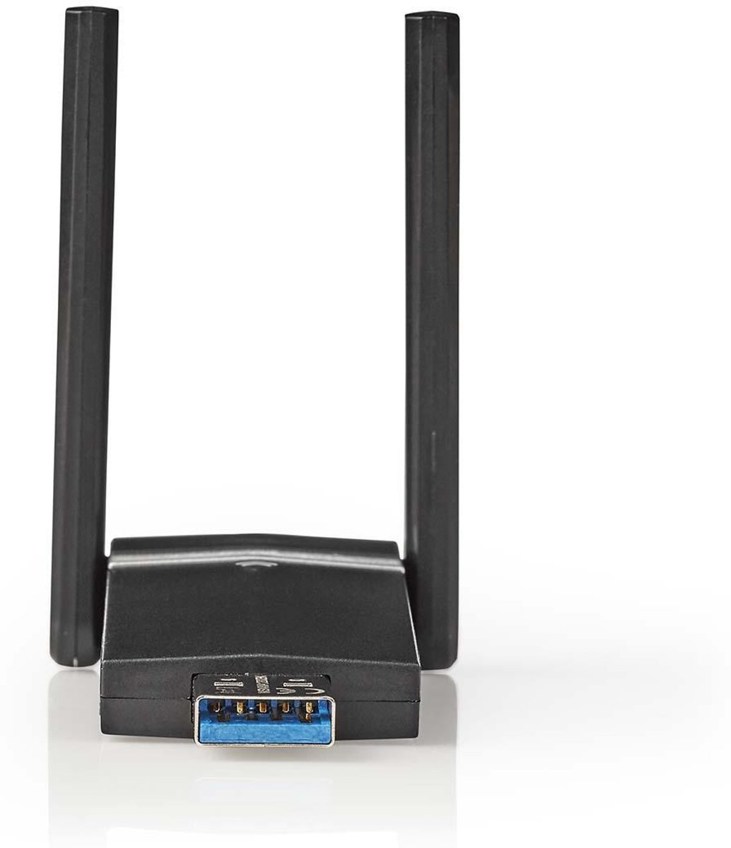 Network Dongle | AC1200 | Dual Band | Black