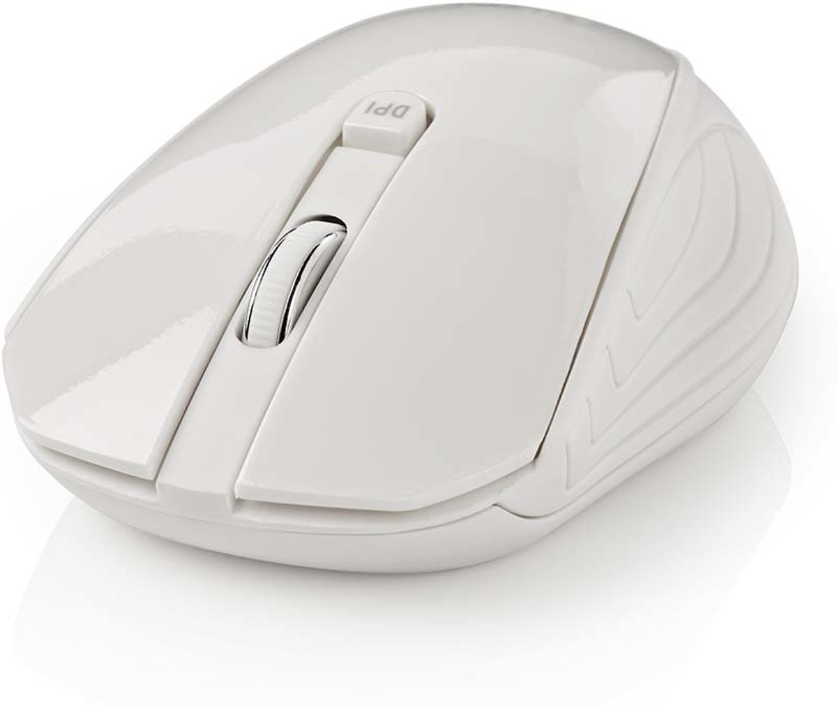 Wireless Mouse | 1000 DPI | 3-Button | White