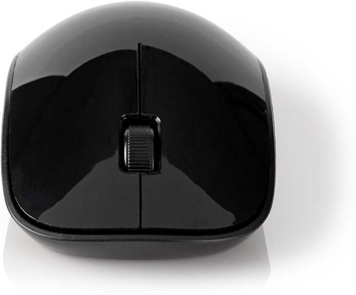 Wireless Mouse | 1600 DPI | 3-Buttons | Black
