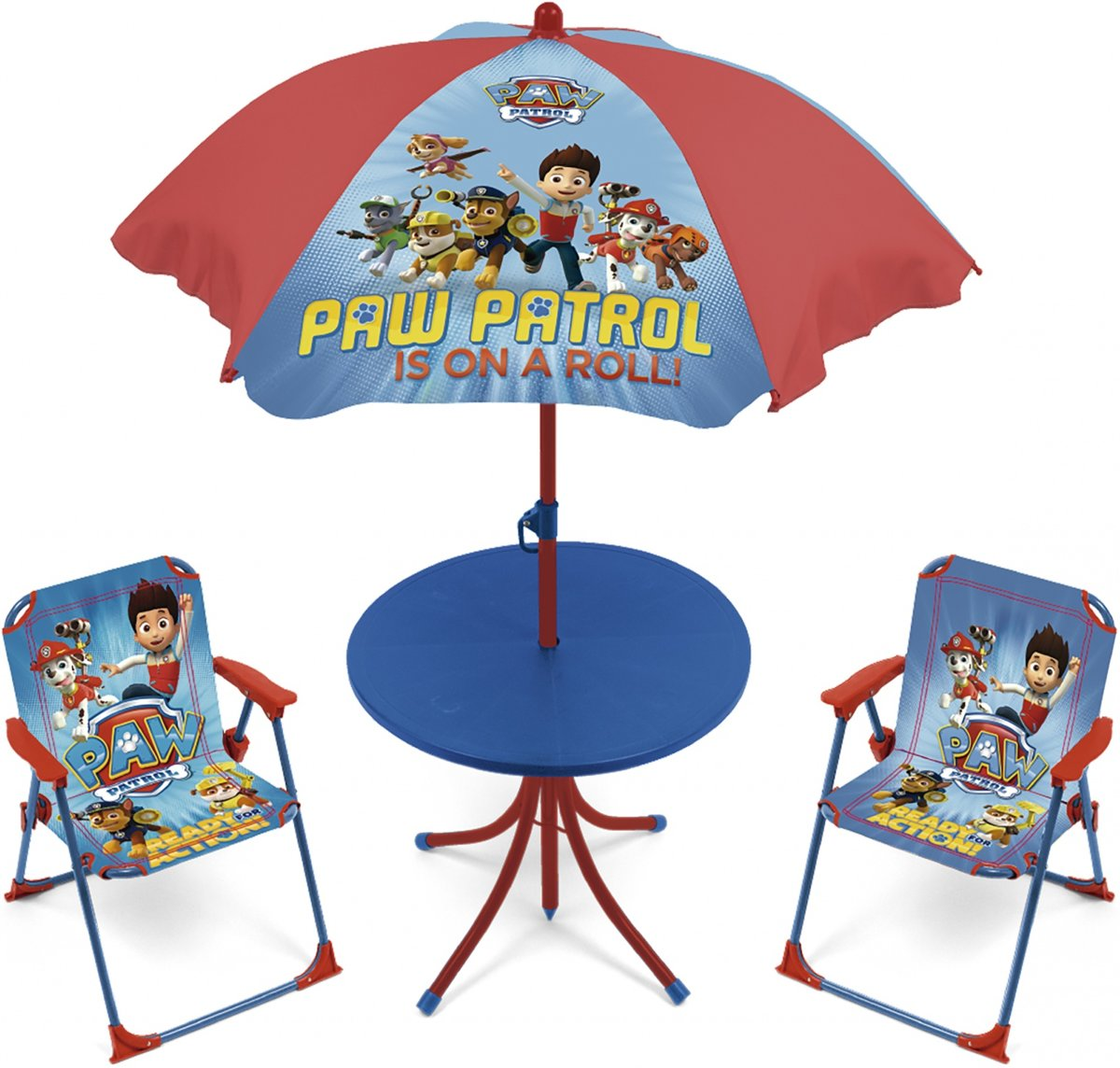 Campingset Paw Patrol Junior Blauw/rood 4-delig