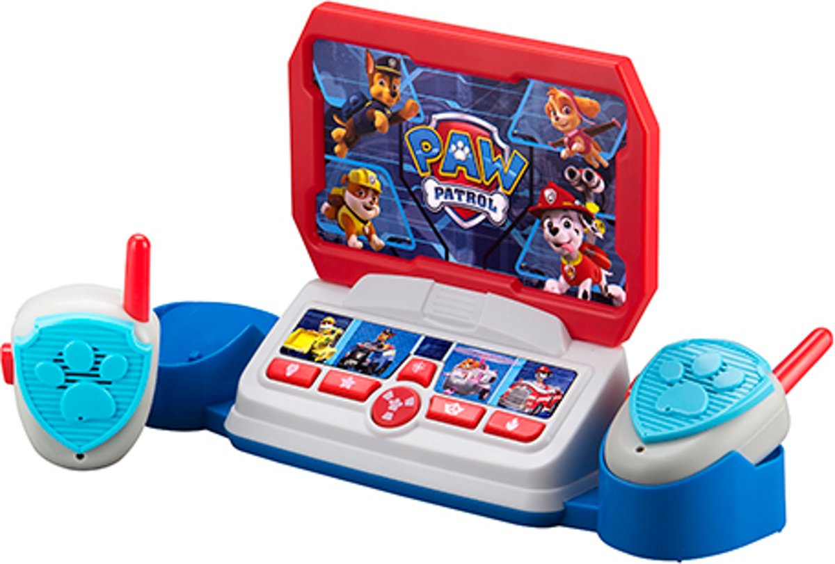Paw Patrol Command Center met Walkie Talkies