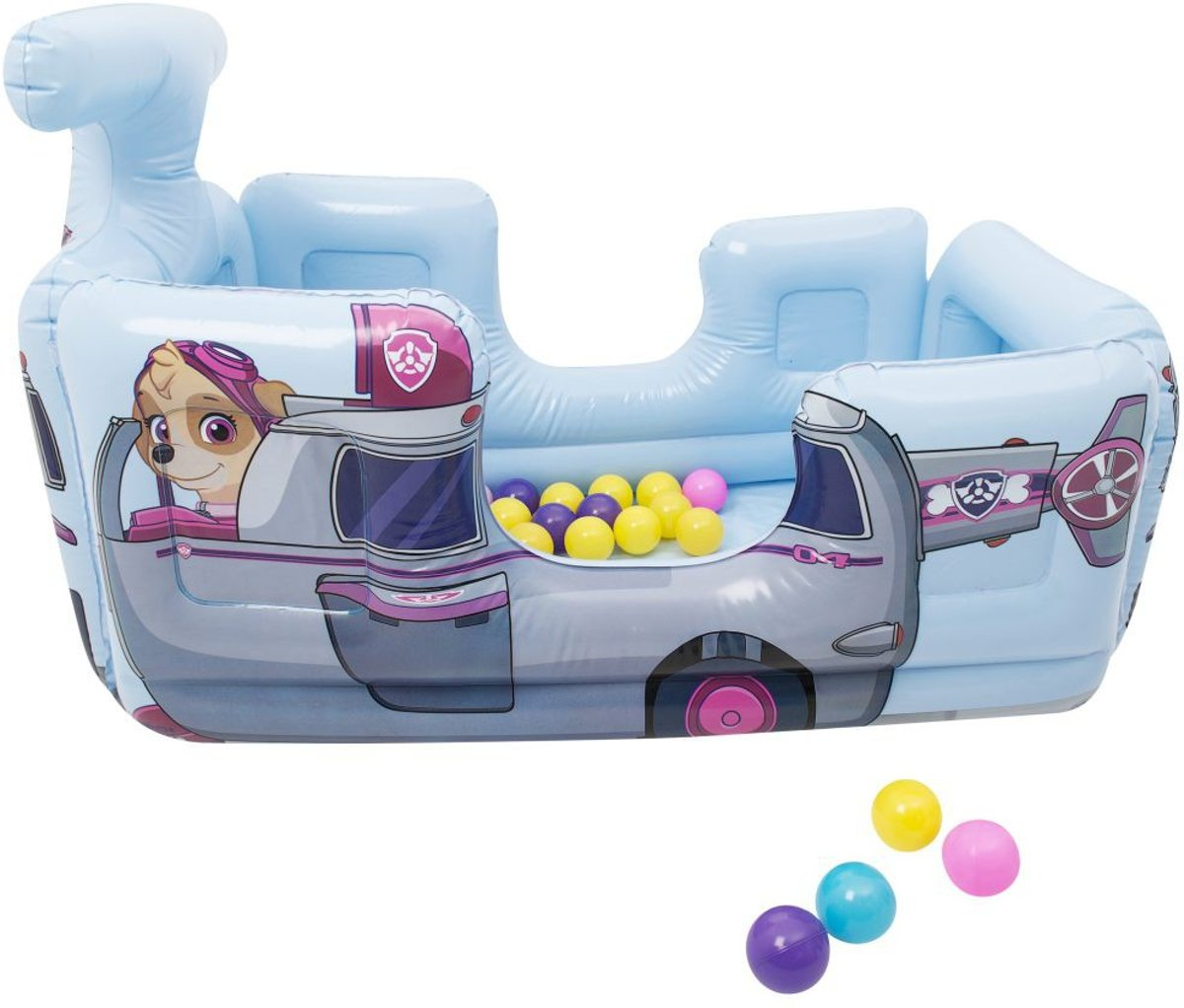 Paw Patrol Skye Vehicle Ball Pit with 20 Balls