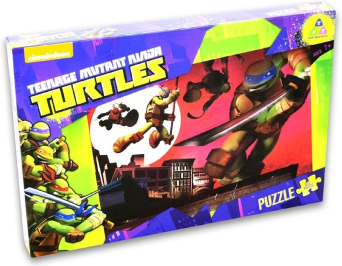 Teenage Mutant Ninja Turtles Puzzel - 500 Stukjes