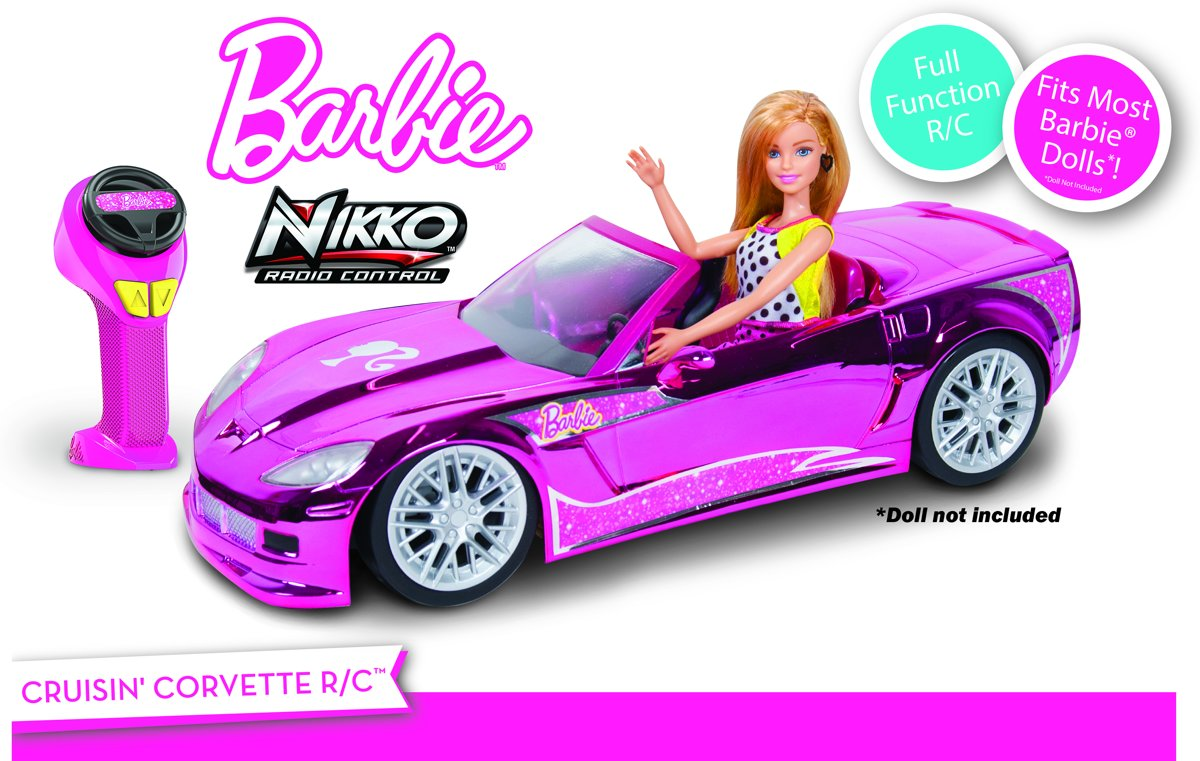 Barbie Crusin Corvette - RC Auto