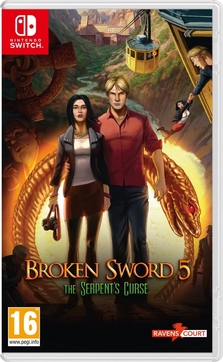 Broken Sword 5 - The Serpents Curse /Switch