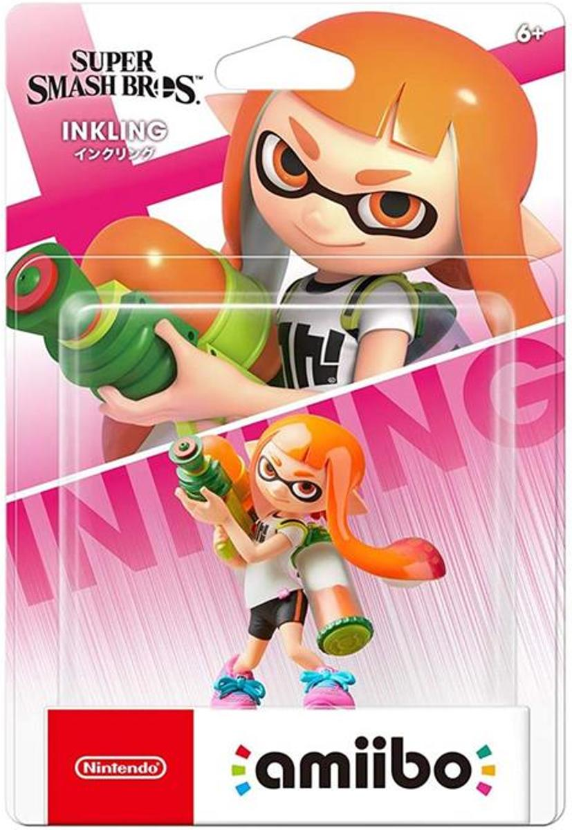 Amiibo Inkling - Super Smash Bros.