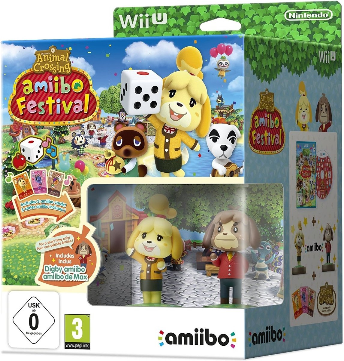 Animal Crossing Amiibo Festival (2 Figuren, 3 Cards)