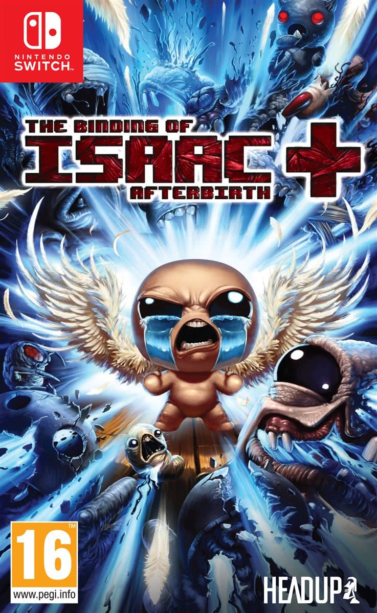 Binding of Isaac Afterbirth + - Switch