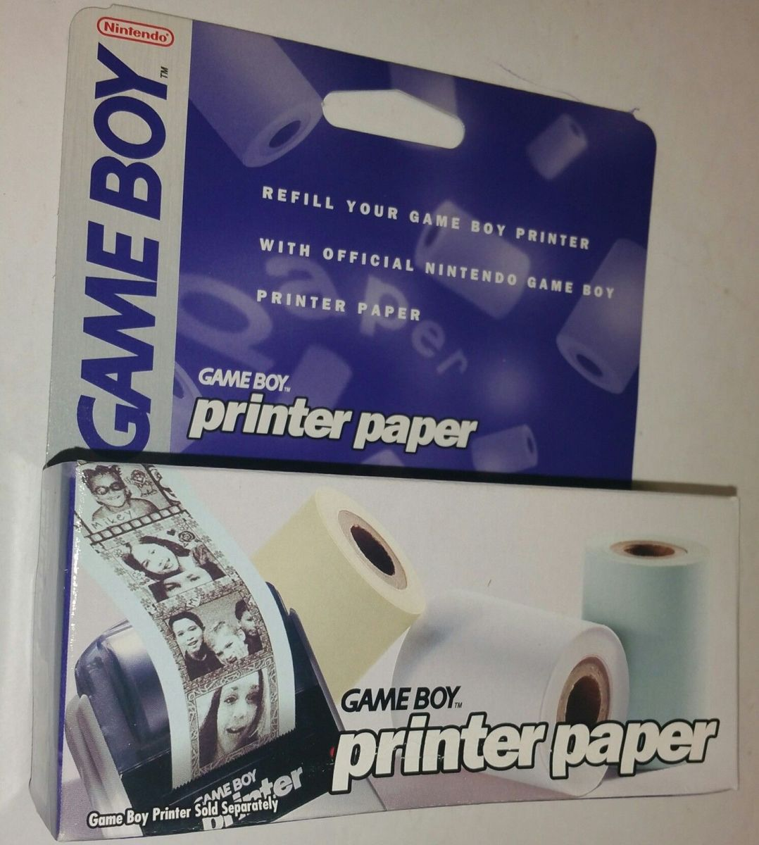 Gameboy Printer Paper