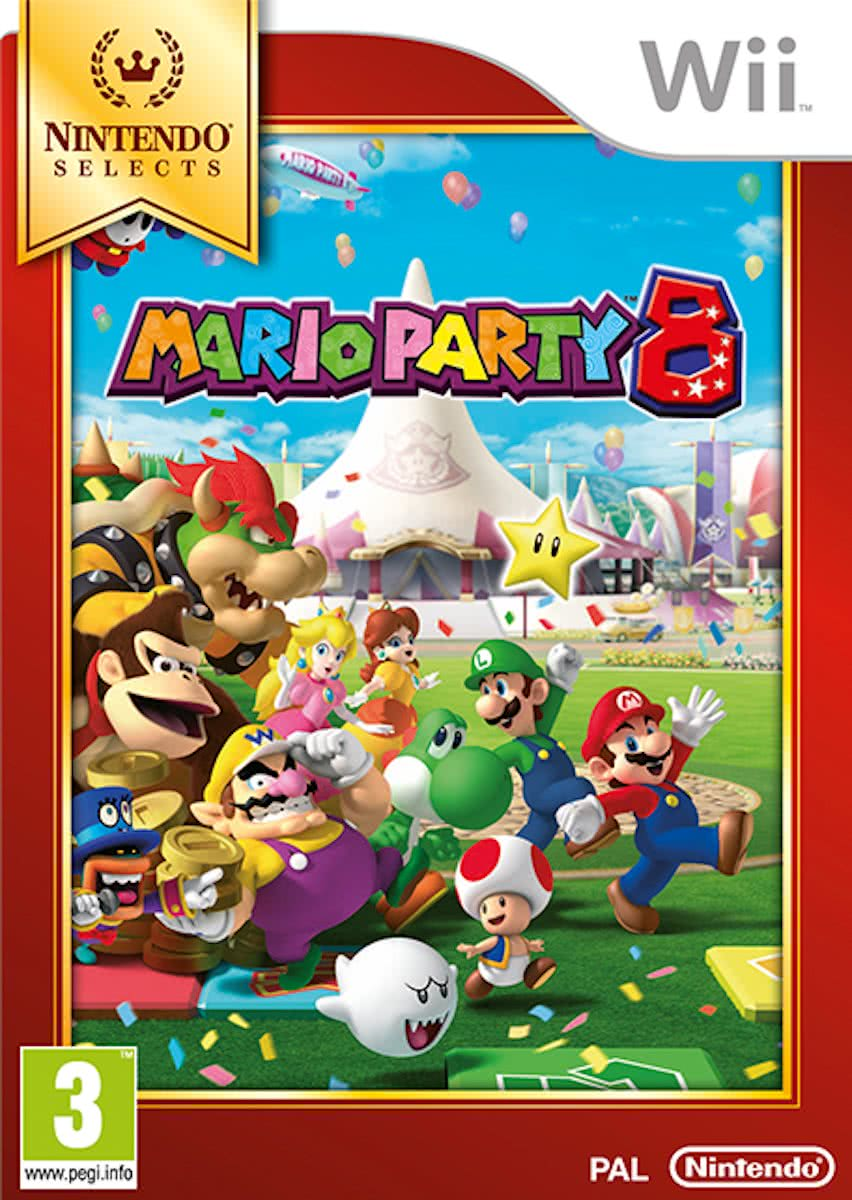 Mario Party 8 (Select) (WII)
