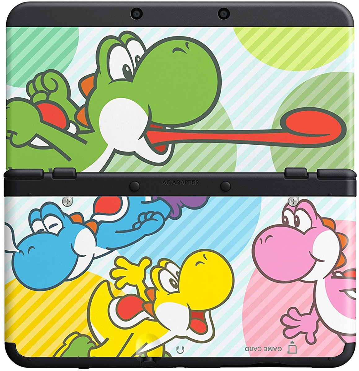 NEW3DS COVERPLATE YOSHI COLOR 028 EUR