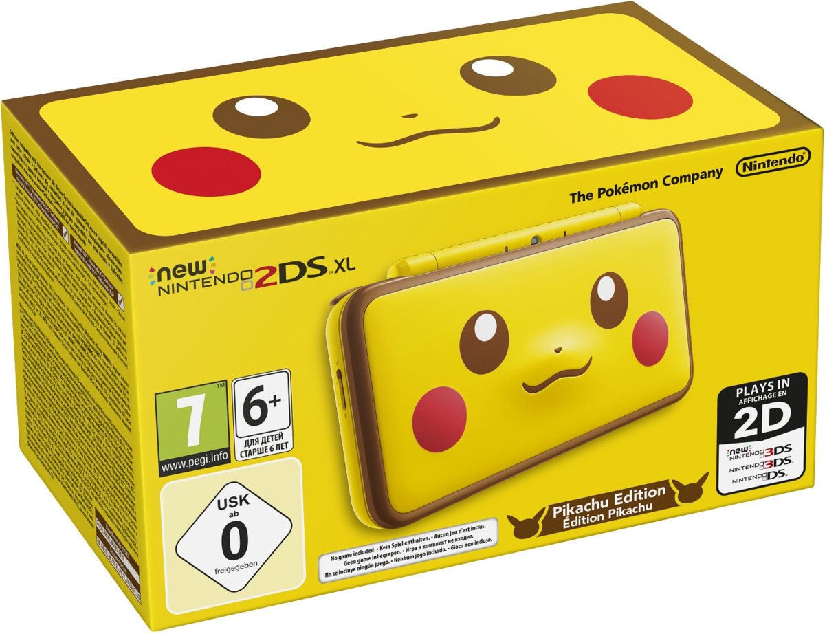 New   2DS XL console - Pikachu Edition - 2DS