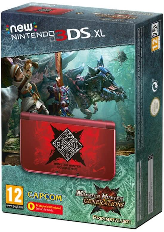 New   3DS XL - Monster Hunter: Generations Edition