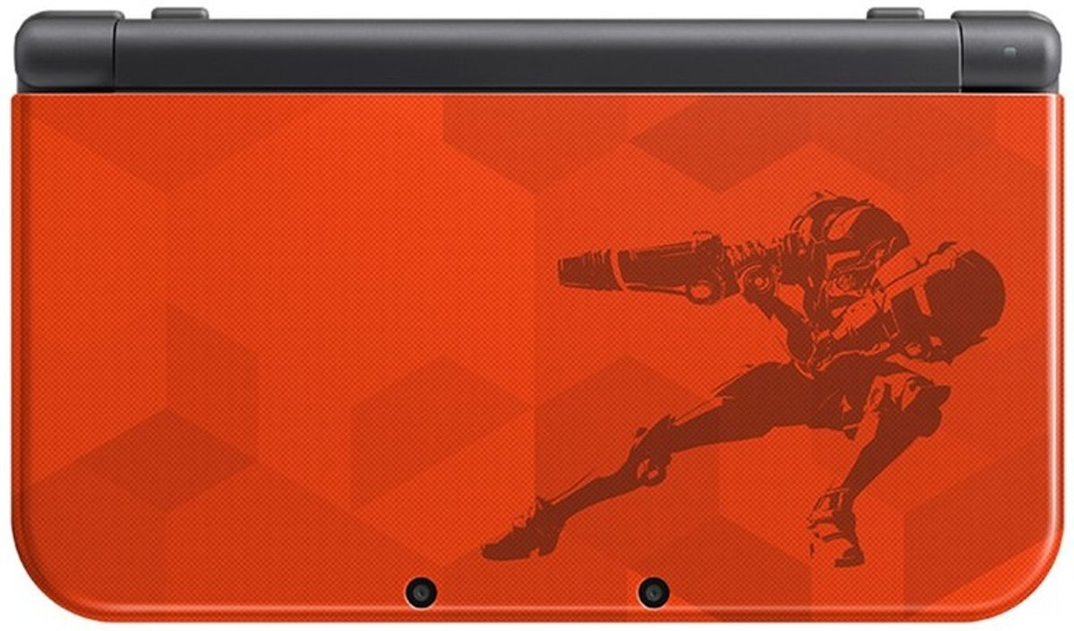 New   3DS XL Samus Edition Console - Rood/Goud