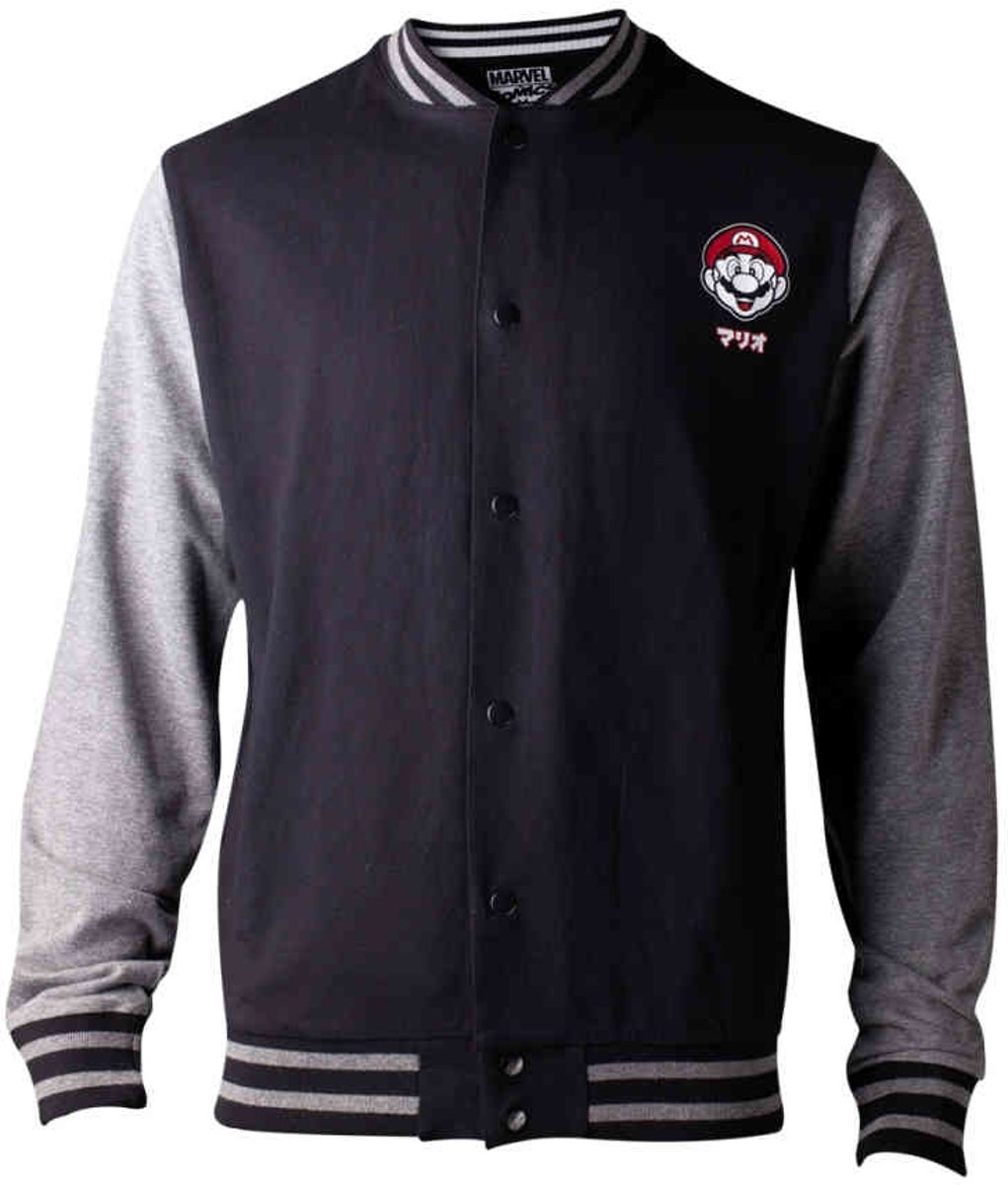 - Super Mario Varsity Mens Jacket