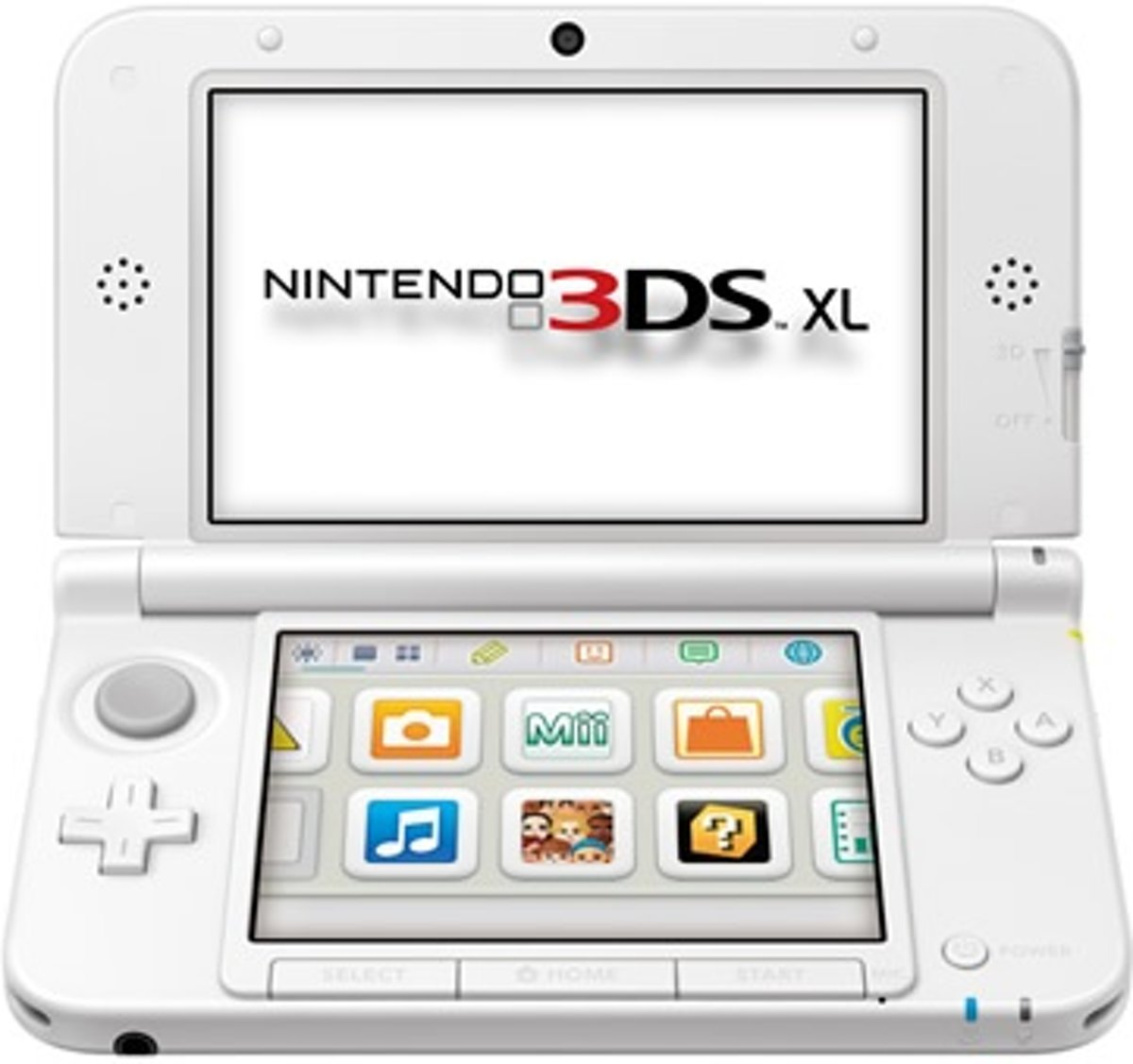 3DS XL Wit