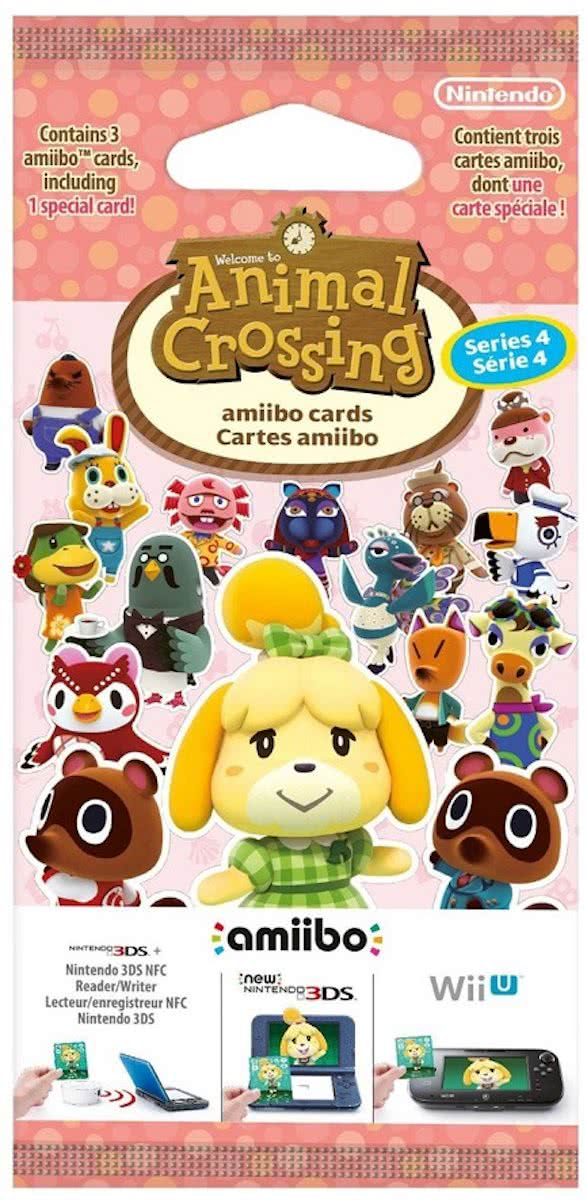 Amiibo 3pack Animal Crossing