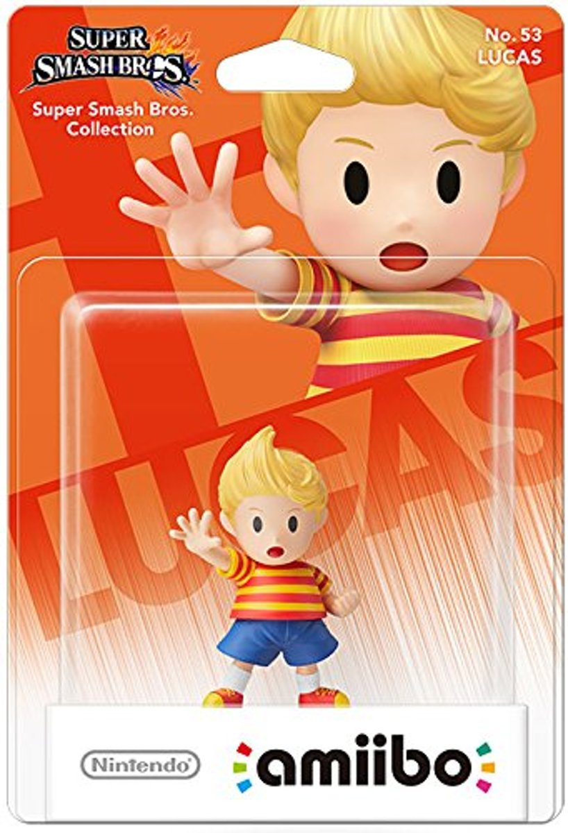 Amiibo Lucas Super Smash Bros. Collection - 3DS - Wii U - Switch