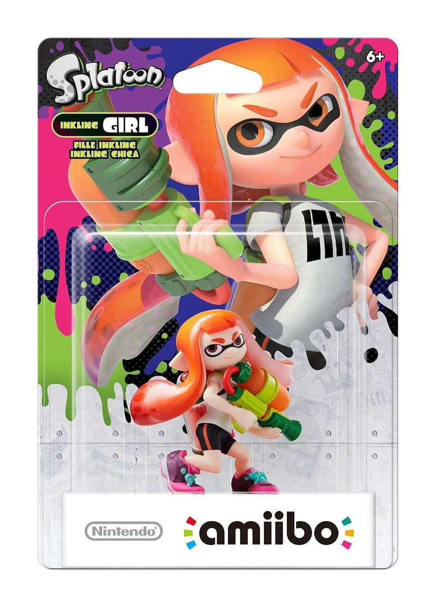 Amiibo Splatoon Girl - 3DS - Wii U - Switch