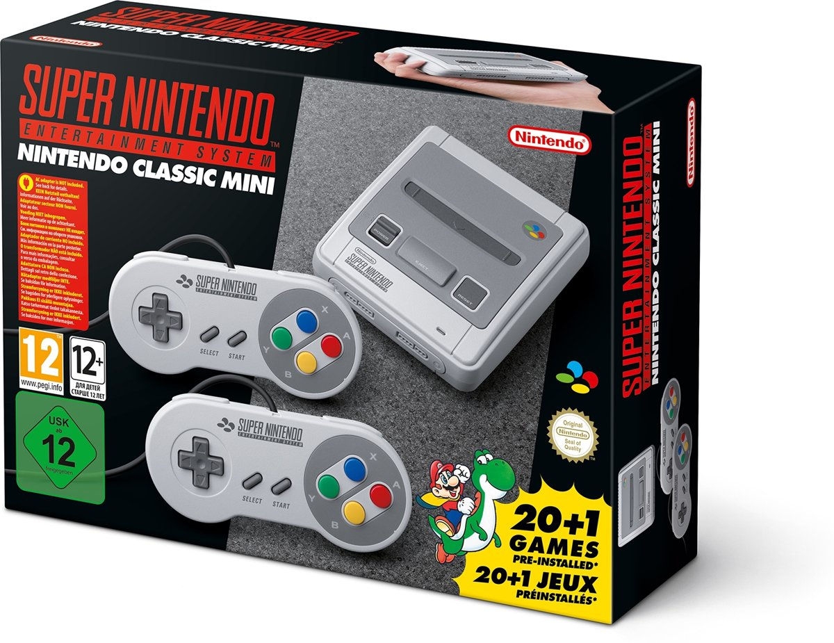 Nintendo Classic Mini: Super Entertainment System - Grijs (import)