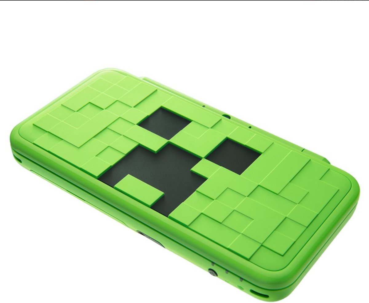 New 2DS XL- Minecraft creeper edition