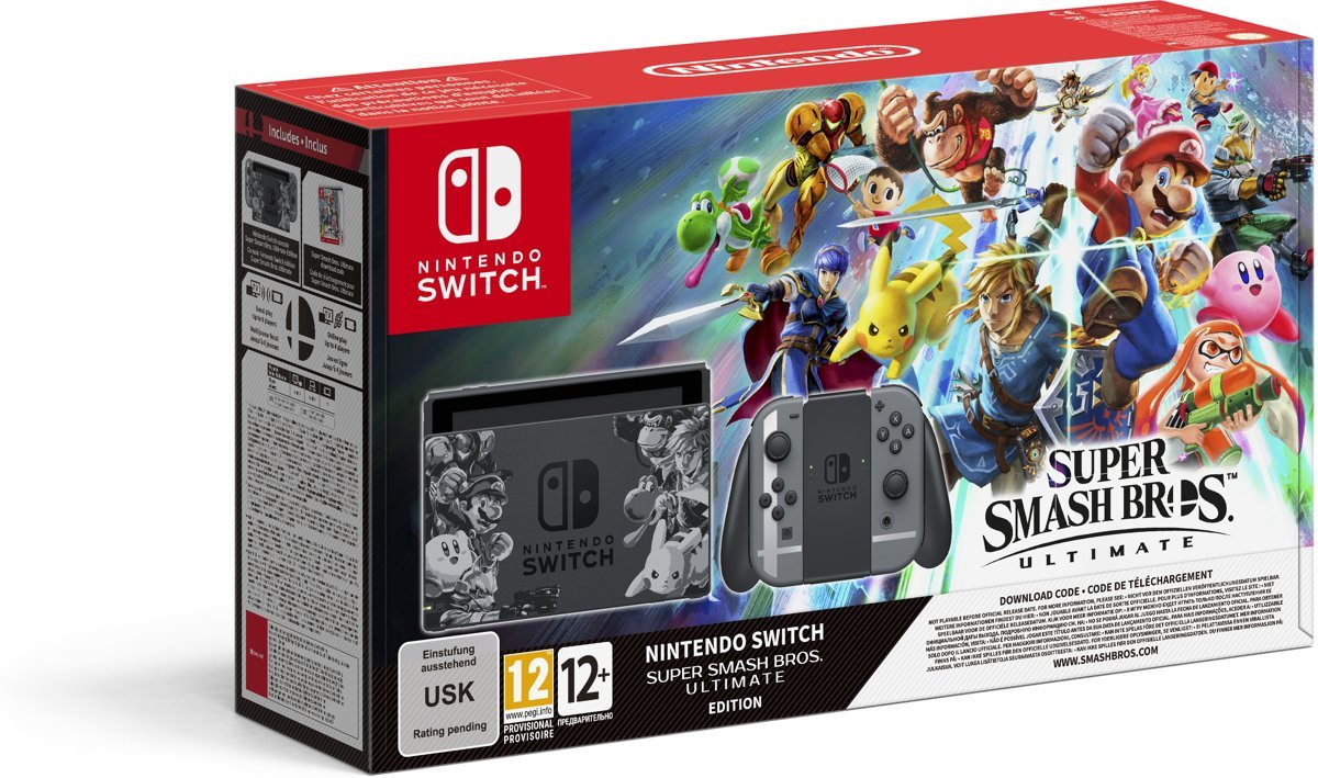 Switch Console Super Smash Bros. Ultimate Bundel