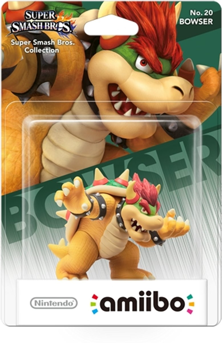 amiibo Super Smash Figuur Bowser - Wii U - NEW 3DS - Switch