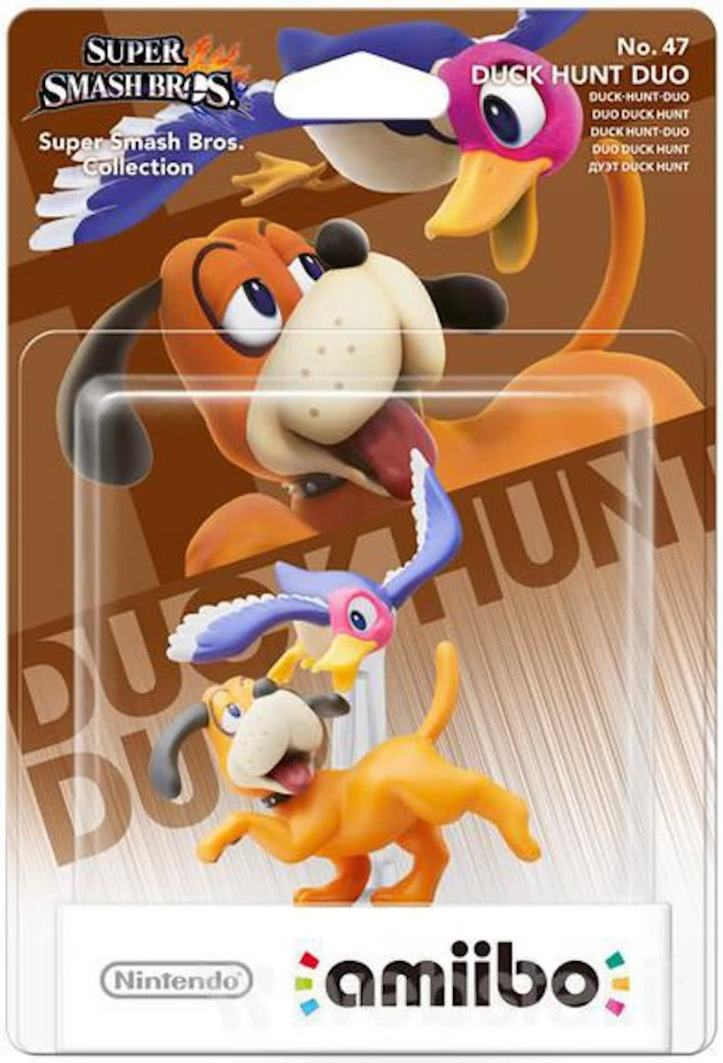 amiibo Super Smash Figuur Duck Hunt Duo - Wii U - NEW 3DS - Switch