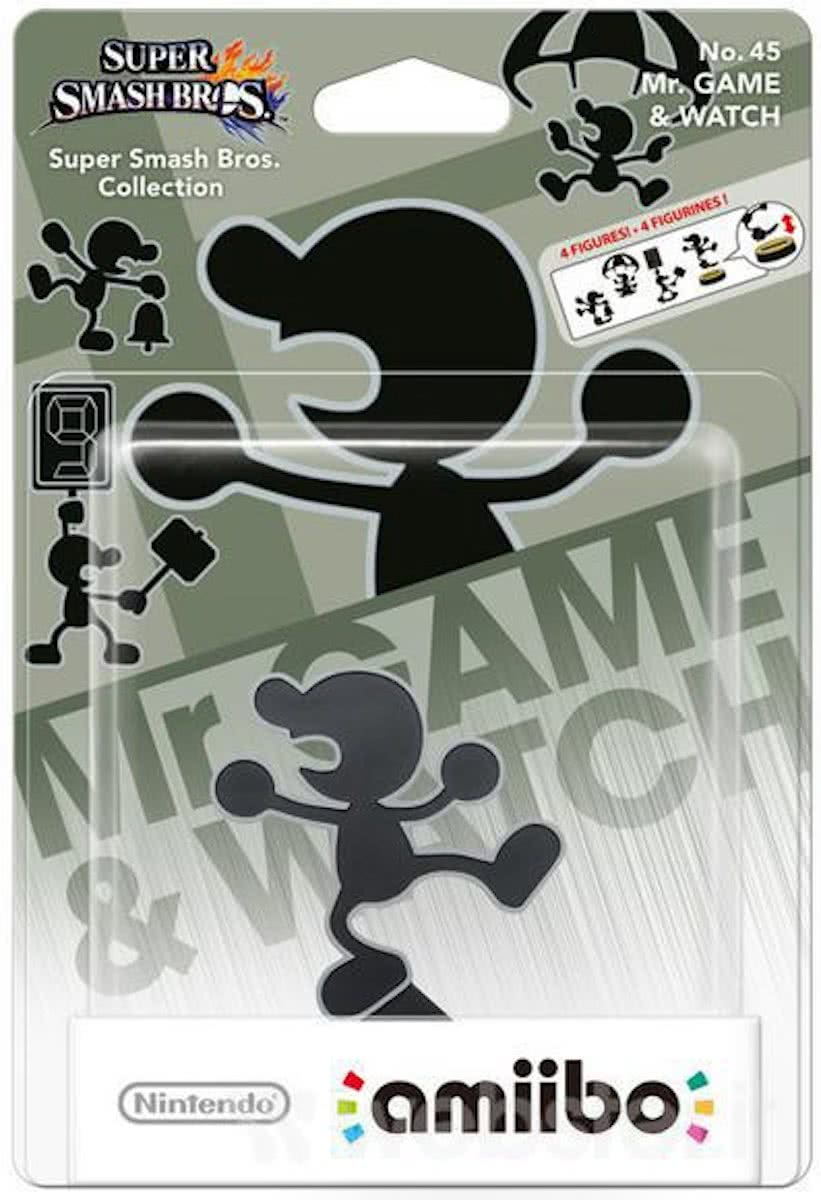 amiibo Super Smash Figuur Game & Watch - Wii U - NEW 3DS - Switch