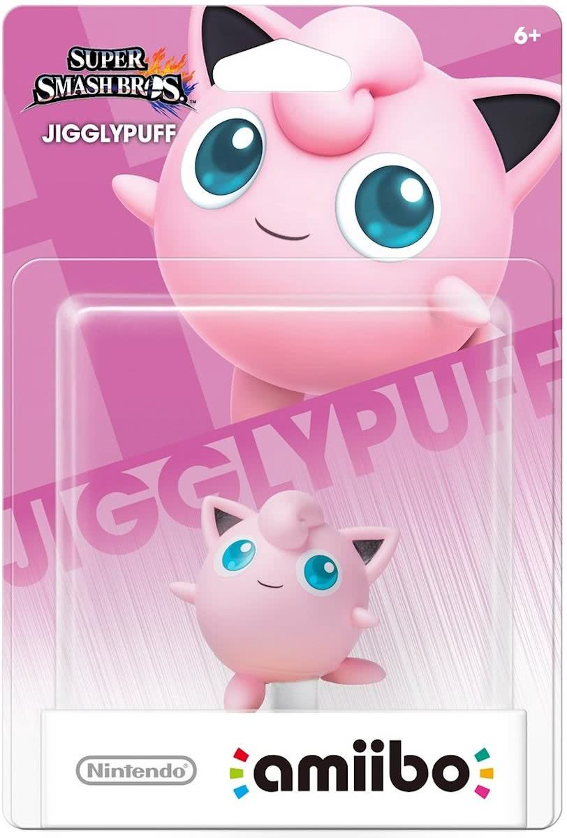 amiibo Super Smash Figuur Jigglypuff - Wii U - NEW 3DS - Switch