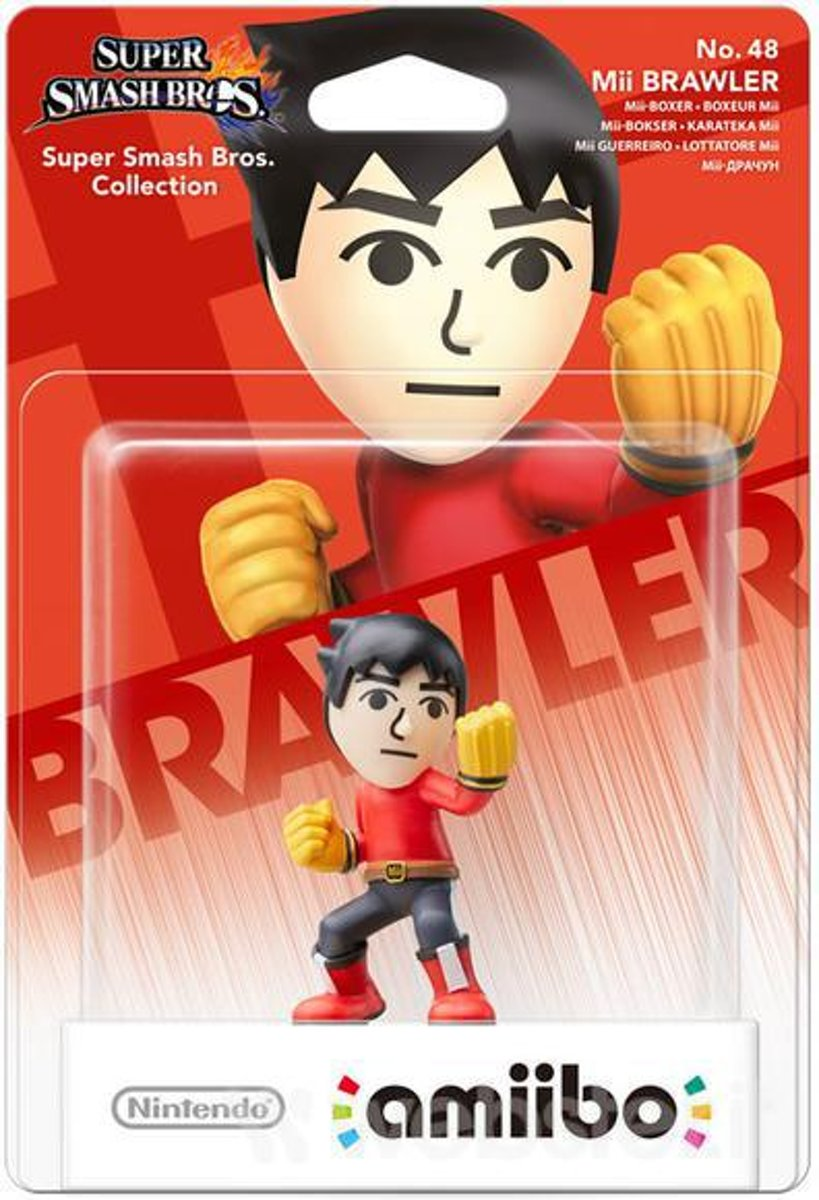 amiibo Super Smash Mii Brawler - Wii U - NEW 3DS - Switch