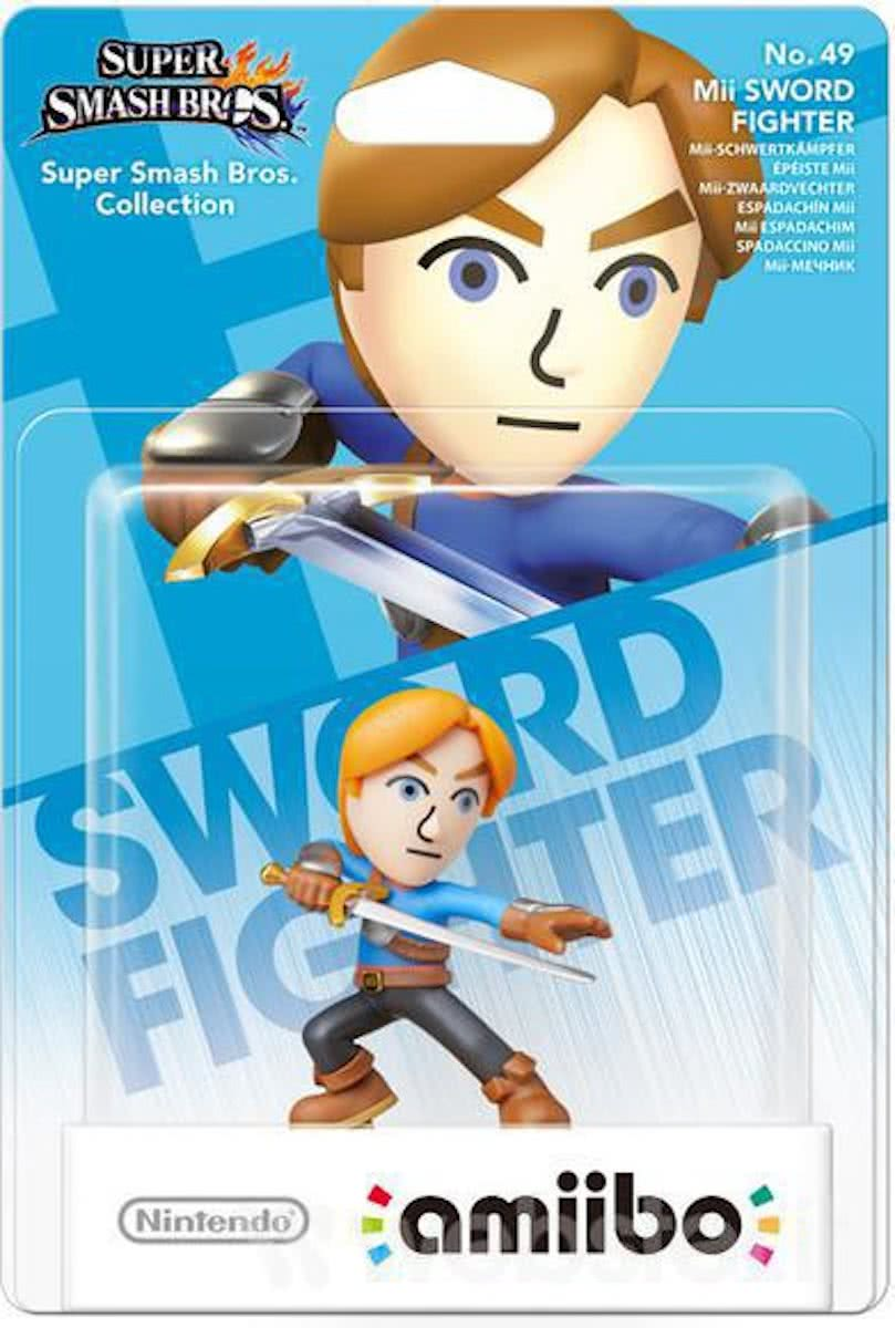 amiibo Super Smash Mii Sword Fighter - Wii U - NEW 3DS - Switch