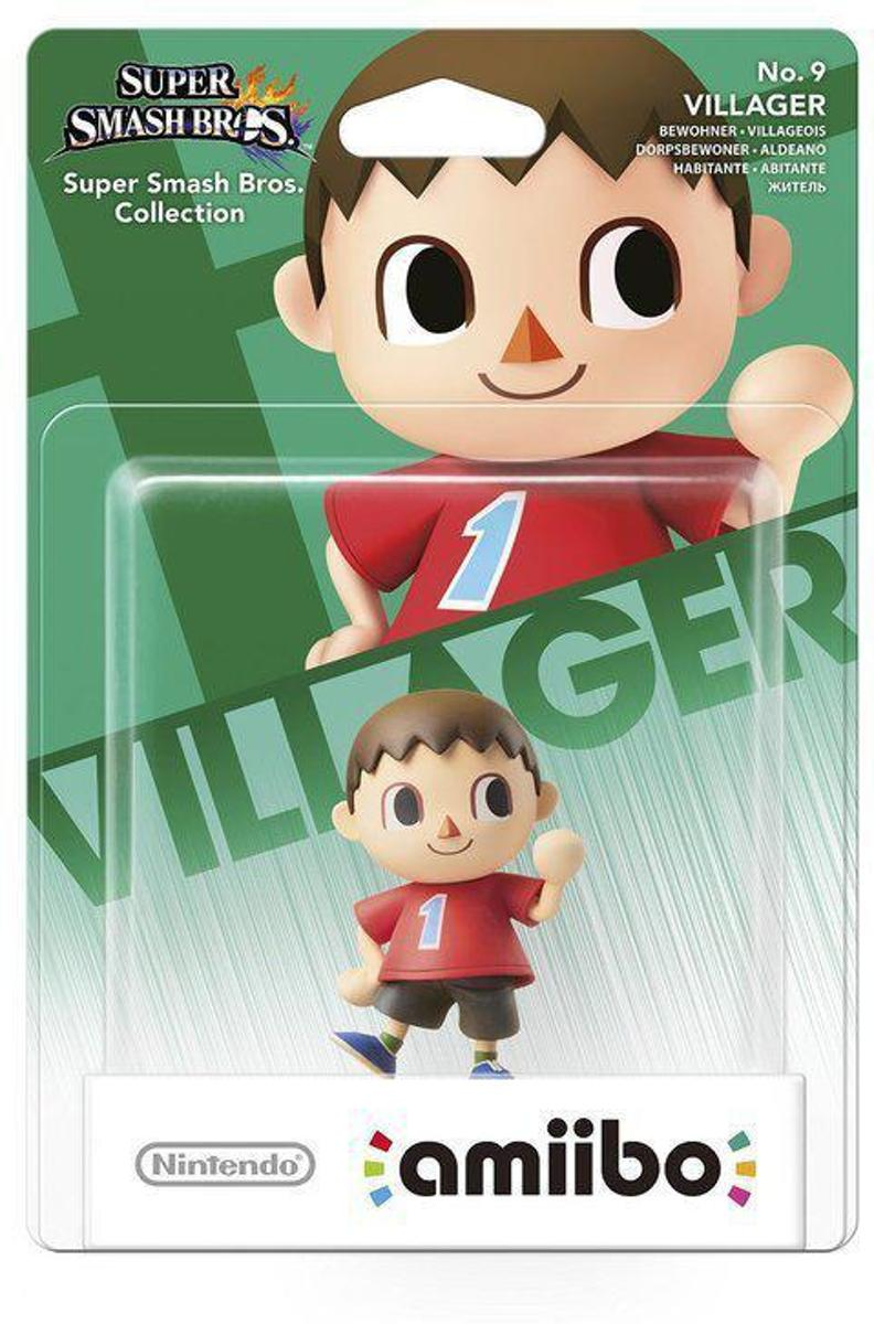 amiibo Super Smash Villager - Wii U -  NEW 3DS - Switch