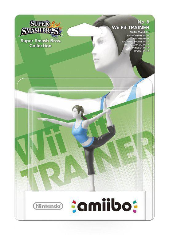 amiibo Super Smash Wii Fit Trainer - Wii U - NEW 3DS - Switch