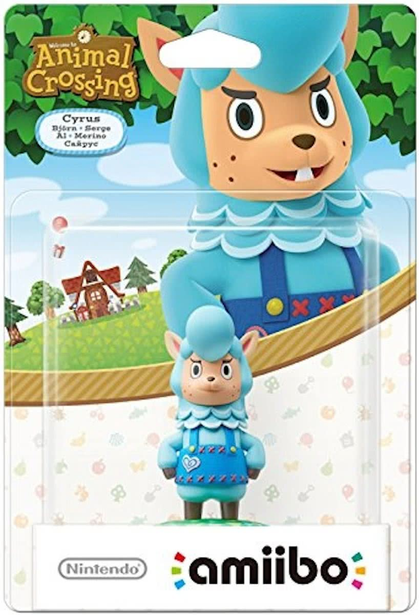 amiibo figuur - Animal Crossing Cyrus