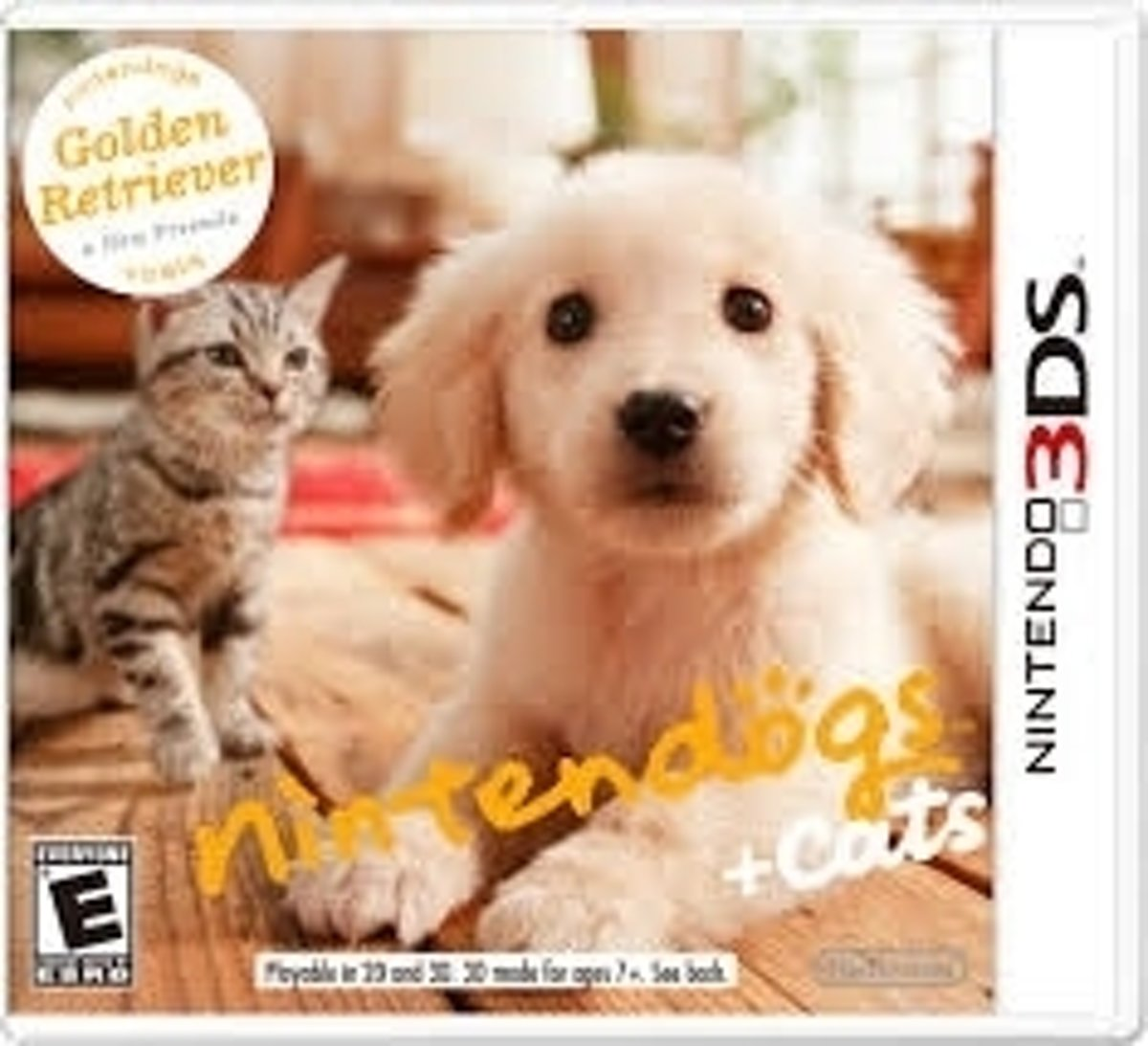 gs and Cats 3D: Golden Retriever /3DS