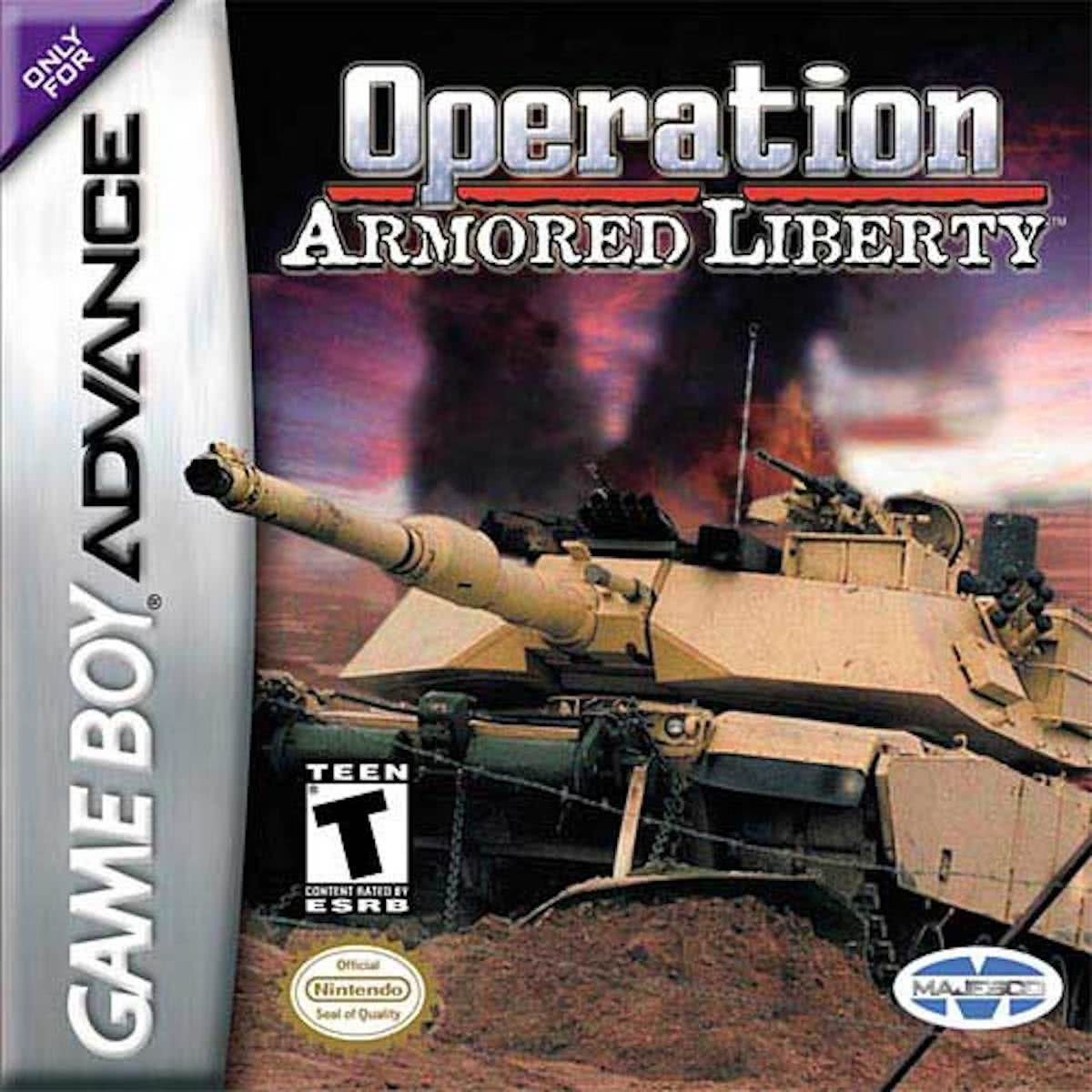 Operation Armored Liberty (Gameboy Advance)