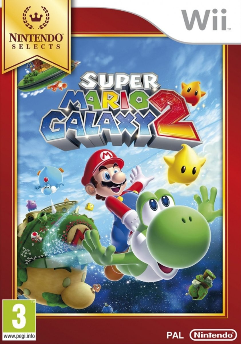 Super Mario Galaxy 2 Wii Selects