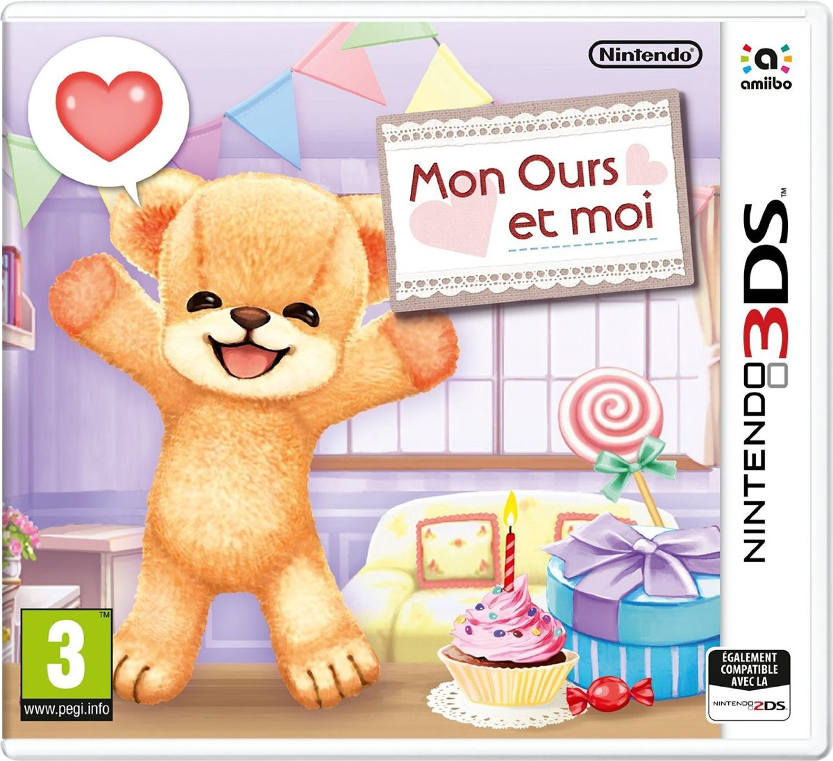 Teddy Together : 3DS , FR
