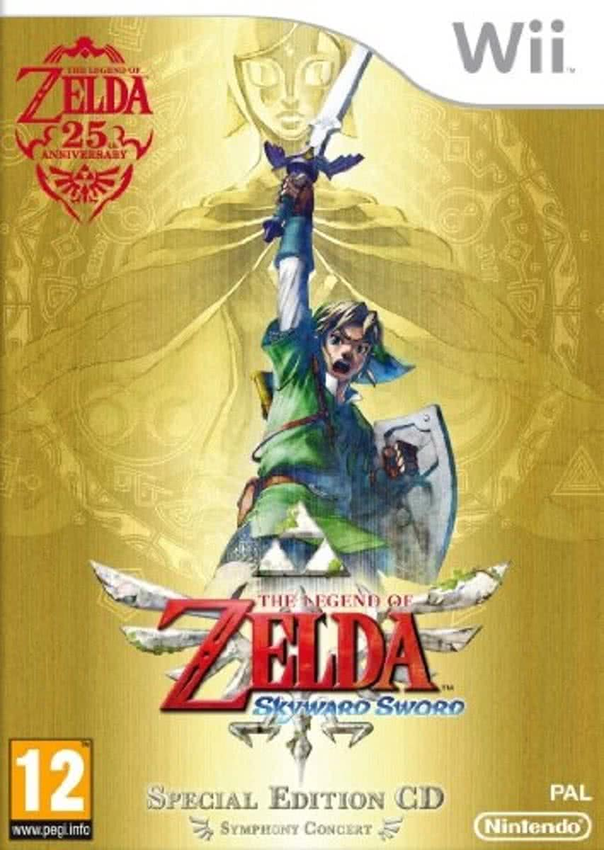 The Legend of Zelda: Skyward Sword + CD