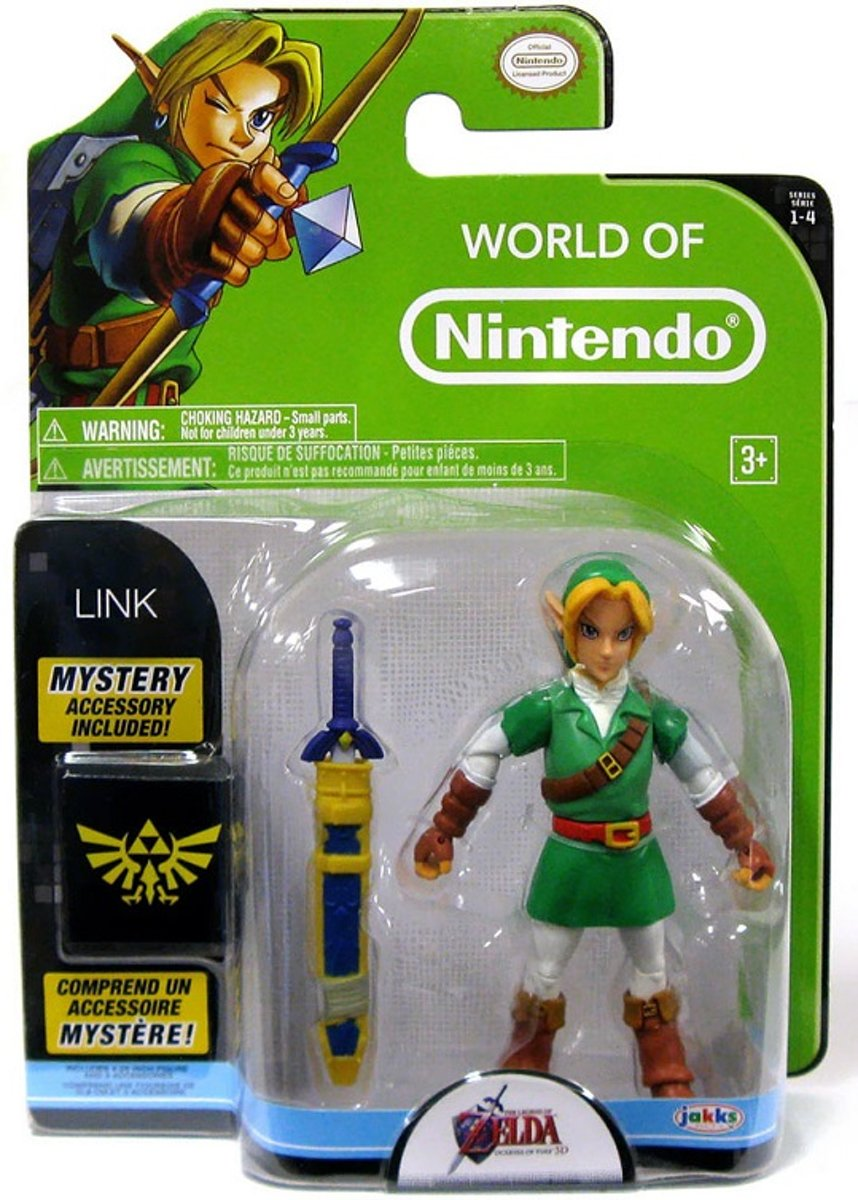 World Of Nintendo - The Legend Of Zelda - Link With Mystery Box