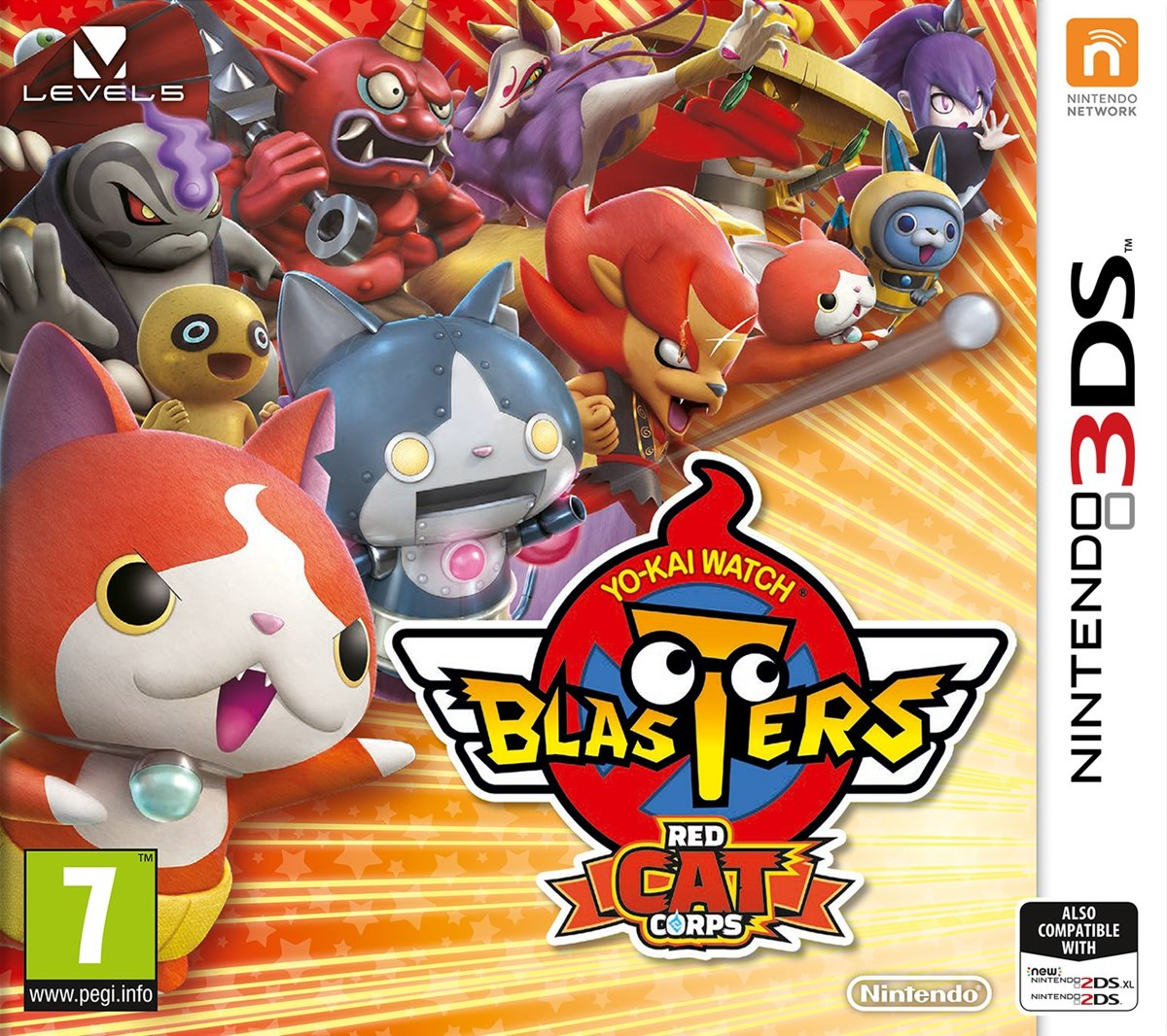 Yo-Kai Blasters - Red Cat Corps